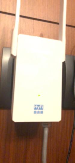 TP-LINK HyFi智能高速无线套装 无线路由器 分布式路由 穿墙宝(TL-H29RA&TL-H29EA) 晒单图