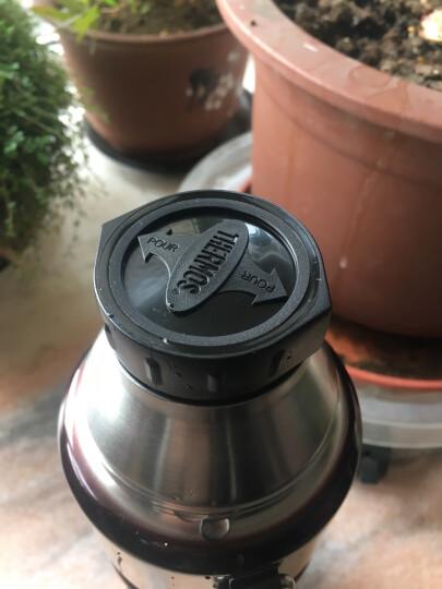 膳魔师(THERMOS) 保温壶大容量1.2L便携户外旅行壶保温瓶SK-2010 咖啡色 晒单图