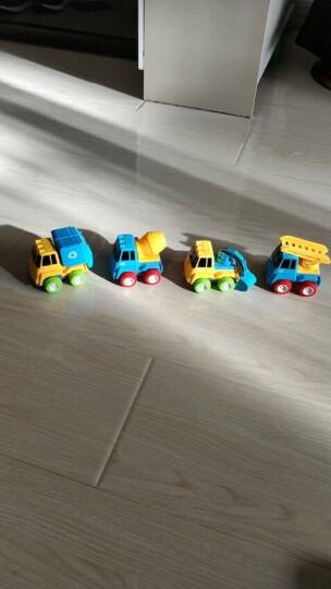 铭塔(MING TA)迷你惯性工程车 儿童玩具回力小汽车 早教益智玩具 晒单图