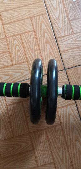 凯速静音型双轮健腹器腹肌轮健腹轮滚轮(带跪垫)PR41绿色 晒单图