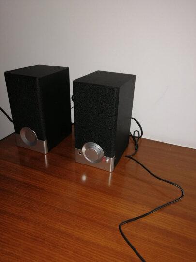漫步者(EDIFIER) R18T 2.0声道 木质多媒体音响音箱   电脑音响   黑色 晒单图
