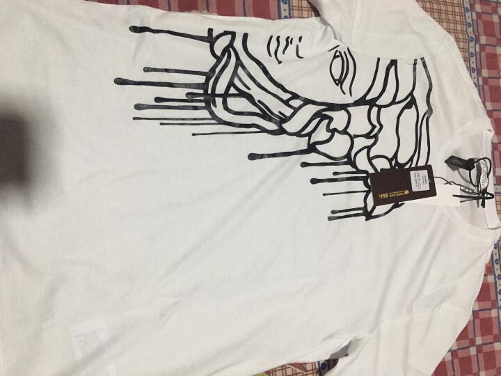 VERSACE范思哲男装短袖圆领T恤V800683S VJ00367 黑色 XL 晒单图