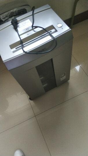 得力(deli)大容量多功能办公商用碎纸机文件粉碎机 长时间5级保密碎纸机9906 晒单图