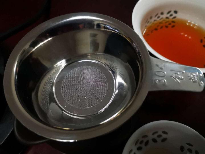 自像堂 304不锈钢茶漏网功夫茶具配件 茶隔滤茶器 茶叶过滤器茶过滤网 激光打孔 晒单图