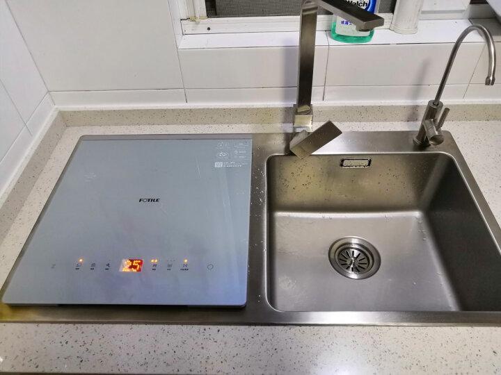 方太(FOTILE)水槽洗碗机 6套 家用全自动嵌入式超声波洗果蔬三合一 JBSD2T-X9 晒单图