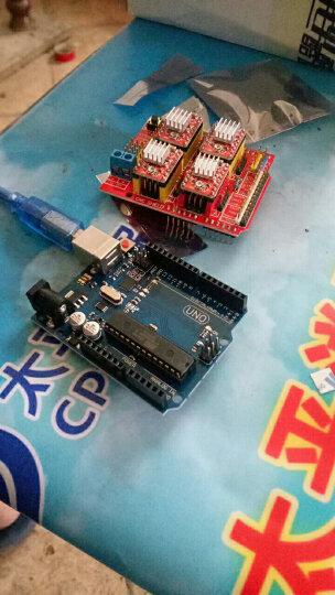 酷道(MiRoad) 适用arduino CNC扩展板步进电机A4988雕刻机套件 QD06C QD06C 晒单图