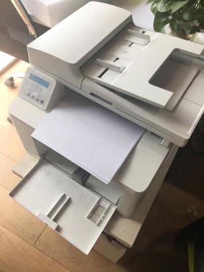 惠普(HP)打印机m227fdw、a4黑白激光打印复印扫描一体机代替m226dw双面网络家用办公 M227D(不带传真+双面打印+平板扫描) 官方标配 晒单图