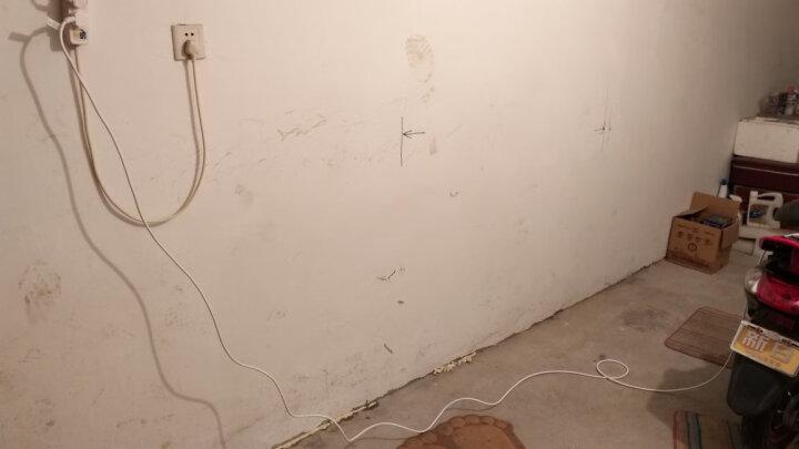 英特曼(Etman) 10A电动车电瓶车充电线延长线防水插线板拖线板接线板3/5/20米 10A五孔延长线5米 晒单图