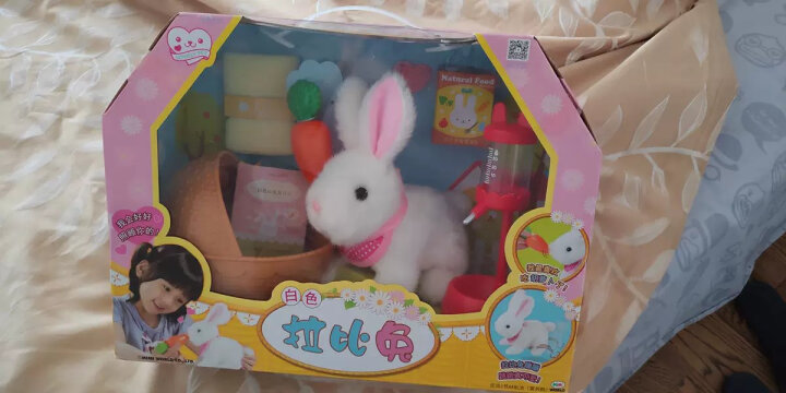 mimiworld 韩国拉比兔 小鸡养成屋仿真电子宠物玩具女孩玩具过家家甜心提包屋六一儿童节礼物 迷你玫美甜心提包屋MW11500 晒单图