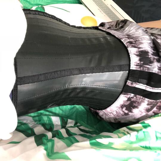 Queenral 运动收腹带橡胶瘦身塑身衣健身美体塑形束腰绑带女瘦身衣腰封美体产后健身运动女 9根 钢骨 S  腰围 61cm-66cm 晒单图