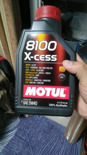 摩特(MOTUL) 8100 X-cess 5W40 5L 意大利原装进口 全合成机油 晒单图