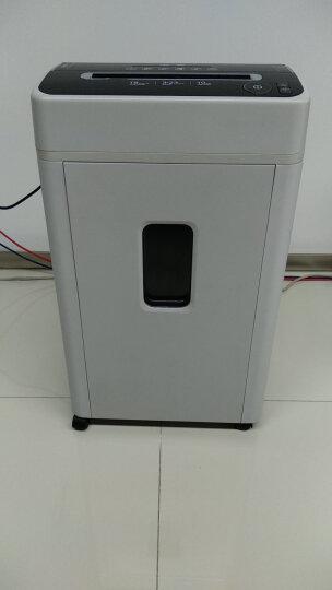 三木(SUNWOOD)SD9522德国4级保密碎纸机/文件粉碎机  触停保护 高效静音 双入口 可碎钉/卡/光盘 晒单图