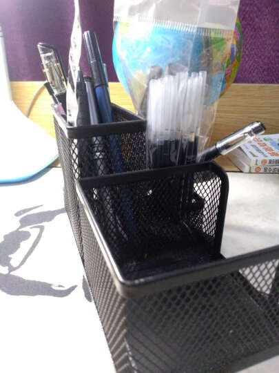 晨光(M&G)ABT98453 组合型多功能办公收纳盒储物盒笔筒随机发货 晒单图