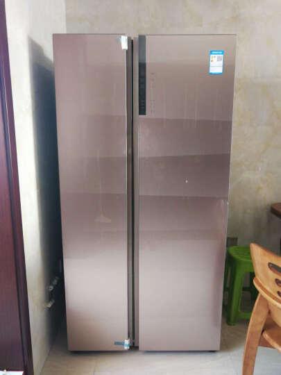 【99新】 海尔  变频无霜 干湿分储 对开门冰箱  布伦斯金 卡萨帝BCD-622WDCAU1 晒单图