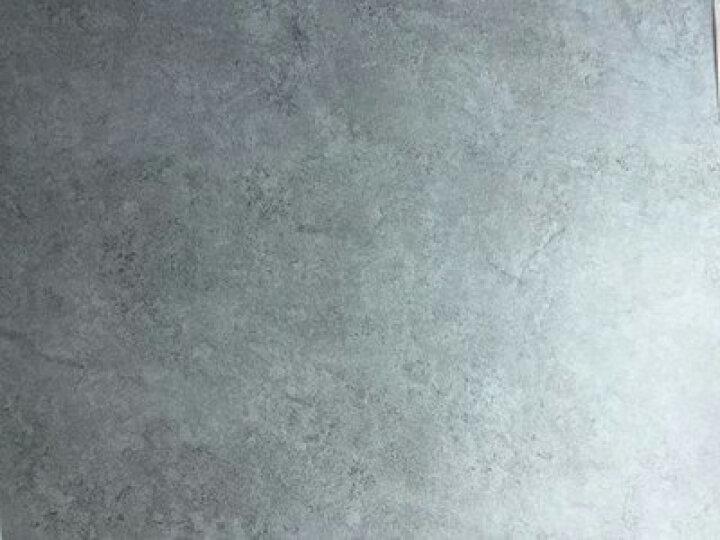 荣彩 自粘地板革PVC地板胶家用商用石塑石纹地板贴2mm加厚耐磨防水水泥灰地砖贴纸 902 深灰云石 平方米 晒单图