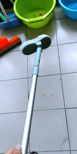 艺姿 厨房用不锈钢锅刷 去污不沾油 长手柄清洁球钢丝球送原装钢丝球8个 YZ-CF101 晒单图