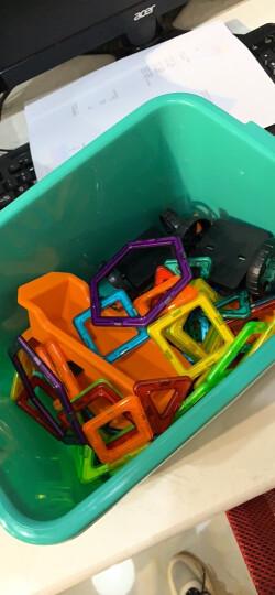 铭塔100件套磁力片积木玩具 儿童男女孩磁性棒百变提拉建构片吸铁石 哒哒搭收纳盒装 晒单图