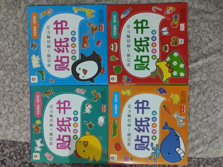 邦臣小红花·3-6岁专注力训练贴纸书:全6册 晒单图