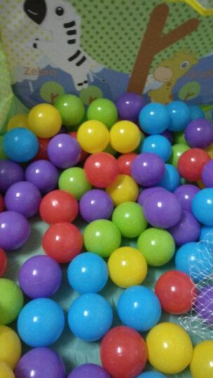 澳乐 儿童海洋球池 宝宝海洋球波波球池帐篷游戏屋小孩户外玩具游戏池0-3岁 球池+200球 ZH777025014 晒单图