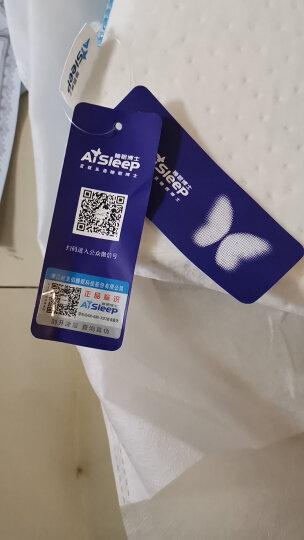 睡眠博士(AiSleep) 臻梦释压按摩泰国进口天然乳胶枕 透气柔弹夏凉颈椎枕头 90%乳胶含量 晒单图