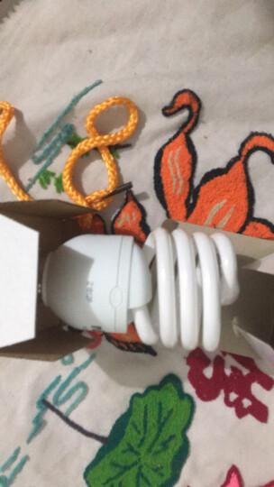 雷士照明(NVC)节能灯 E27大口螺旋8W4000K 冷白色(暖光 中间色) 晒单图
