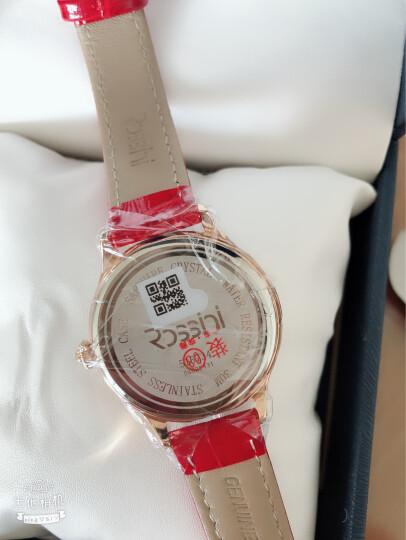 罗西尼(ROSSINI)手表 典美时尚系列椭圆镶钻手链石英钟表女士手表116422G01A 晒单图