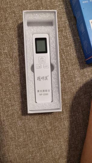 精明鼠(noyafa)NF-2140激光测距仪 红外线测距仪 40米电子测量尺 高精度数字测量仪电子尺 晒单图