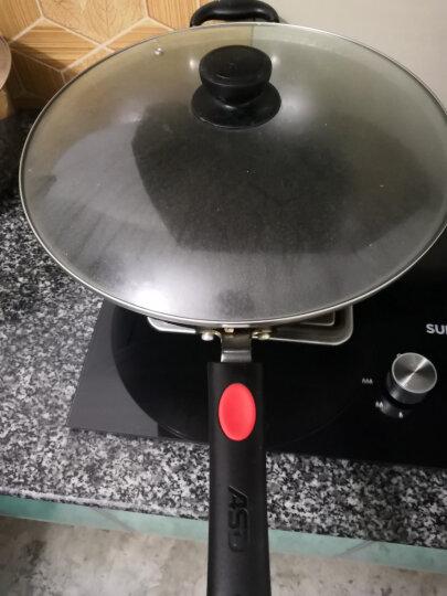 爱仕达36CM铸铁炒锅JX8336E 炒菜铁锅具生铁锅电磁炉通用 晒单图