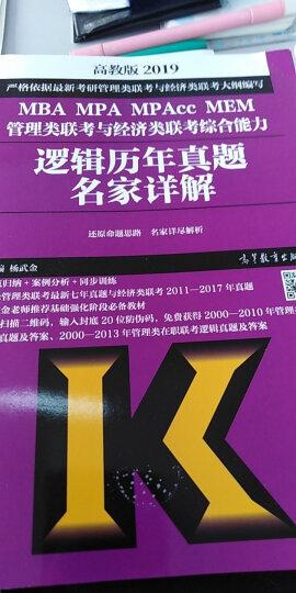 mba联考教材2019蒋军虎考研英语(二)老蒋讲真题:试卷版 第1季( MBA、MPA、MPAcc等专业学位适用) 晒单图