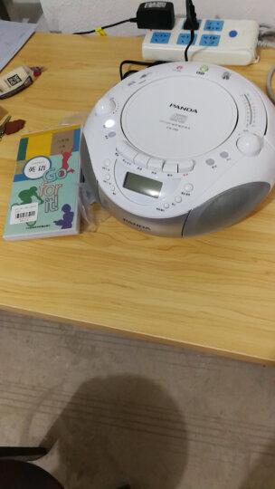 熊猫 (PANDA)CD-208 磁带机 录音机 CD机 MP3光盘 U盘 复读机 收音机 播放机 胎教机 学习机 收录机 晒单图