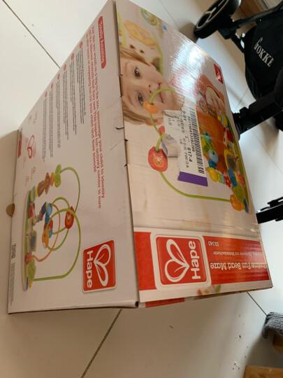 德国(Hape)泡泡乐串珠绕珠儿童玩具早教启蒙益智玩具 6个月+ E1801 木制男孩女孩宝宝生日礼物 晒单图