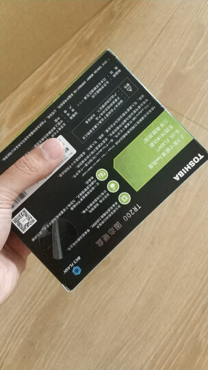 东芝(TOSHIBA) 240GB SSD固态硬盘 SATA3.0接口 TR200系列 晒单图