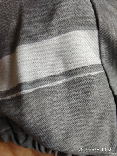 九洲鹿 凉席家纺 双人加大碳化双面竹席 镜面清凉席子竹凉席两用折叠式 (不含枕席) 麦园花 150*195cm 晒单图
