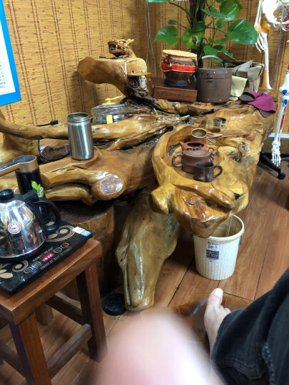 金灶(KAMJOVE) 全智能整套茶具套装加厚玻璃电热水壶黑茶养生电茶炉煮茶器泡茶壶 晒单图