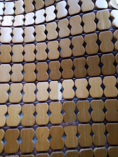 夏季坐垫椅子办公室电脑椅垫学生麻将凉席垫冰垫夏天透气餐椅沙发垫夏季竹席竹凉席汽车坐垫子防滑麻将凉席垫 碳化经典牛筋(支持定做) 50X50cm 晒单图