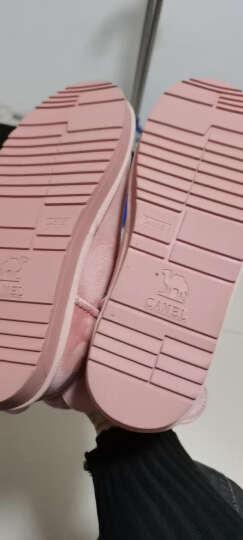 骆驼女鞋冬季加厚保暖雪地靴 A84275627粉色女款 36 晒单图
