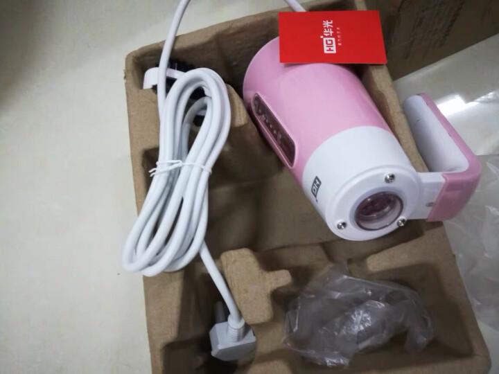 华光(HG)手持蒸汽挂烫机家用小家电 电熨斗 便捷熨衣服机 迷你旅行熨烫机 QH0160粉色 晒单图