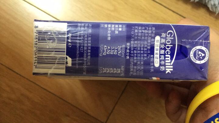 荷兰原装进口 荷高(Globemilk) 全脂纯牛奶200ml*24整箱装 3.6乳蛋白 晒单图