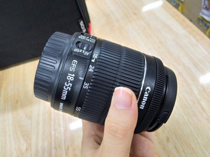 佳能(CANON) EOS 750D 单反相机 入门级数码相机套机 佳能501.8STM定焦镜头 官方标配(不含礼包) 晒单图
