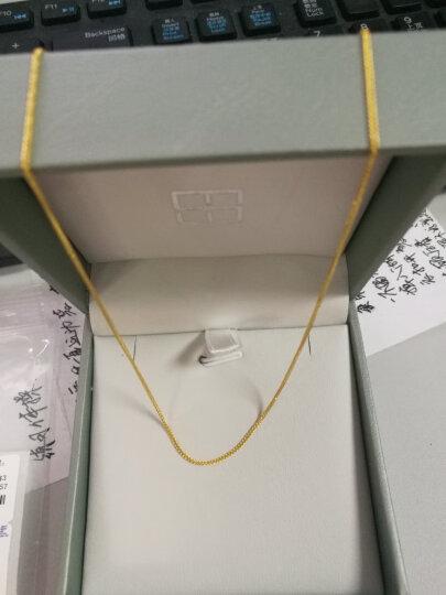 谢瑞麟(TSL) 项链 K金时尚项链子 18k金彩金项链 送女友送老婆项链 AF185 K金黄色 晒单图