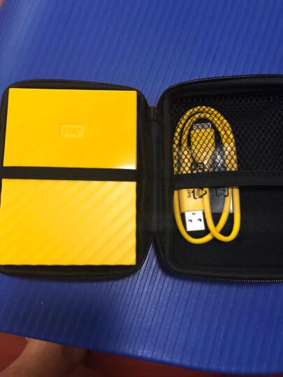 西部数据(WD)4TB USB3.0移动硬盘My Passport  2.5英寸 清新黄(密码保护 自动备份)WDBYFT0040BYL 晒单图