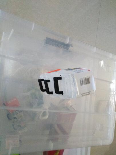 禧天龙Citylong 塑料收纳盒透明小号首饰盒随身便携小药盒迷你款0.15L9个装6647 晒单图