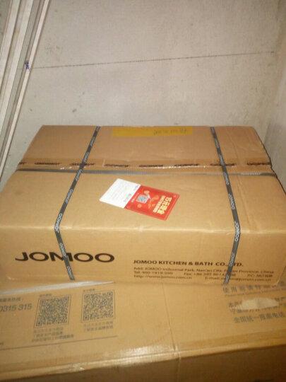 九牧(JOMOO) 卫浴花洒套装全铜主体龙头可升降冷热淋浴器套装太阳顶喷36310 36310(方型) 晒单图