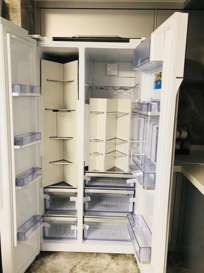 倍科(beko)EUG91642NEW 581升 对开门吧台冰箱 原装进口变频节能电冰箱 风冷无霜 晒单图