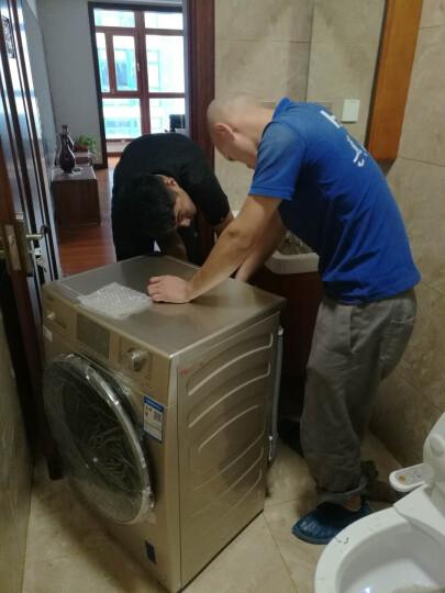海尔(Haier)紫水晶 46CM纤薄 纤维级防皱烘干 8公斤洗烘一体直驱变频滚筒洗衣机 EG8014HB88LGU1 晒单图