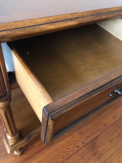 Markbest 品之印 美式实木书桌 乡村田园电脑桌办公桌子写字台 写字桌 晒单图