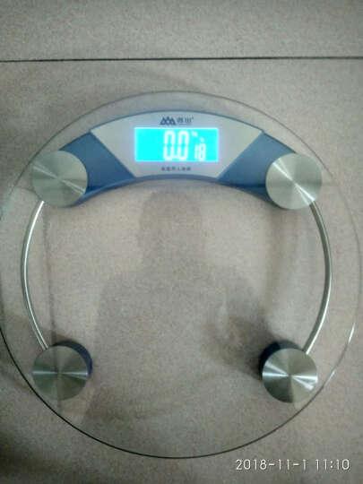 香山 电子称台秤智能体重秤家用称重电子称人体秤体重计婴儿体重秤健康秤 EB592S标配 晒单图