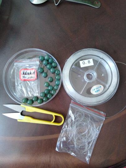 帝思琪天然水晶消磁石手链首饰净化碎水晶鱼缸花瓶铺底碎石 黄玉100克/袋 晒单图