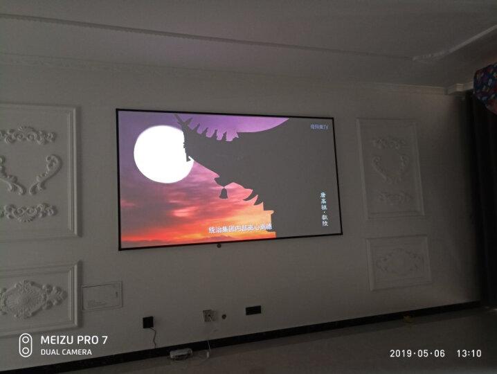 激光电视投影幕布 100英寸投影仪家用高清1080p画框幕布3d投影屏幕4k家庭影院小米坚果无屏电视 晒单图