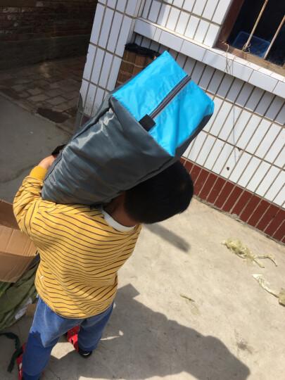 沙漠骆驼 户外郊游露营全自动防雨帐篷户外套装2-4人多人野外帐篷 2人单层自动帐蓝 晒单图